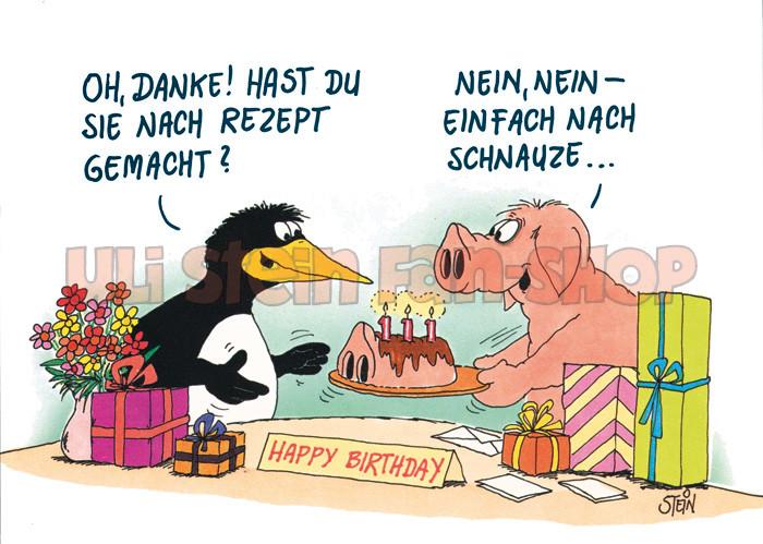 Postkarte Frei nach Schnauze