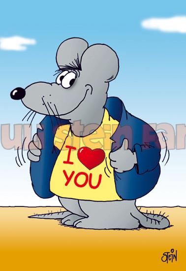Klappkarte I Love You