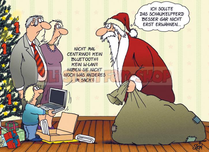 Postkarte Weihnachten / kein WLAN