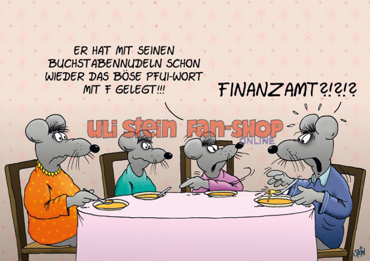 Postkarte / Finanzamt?!?