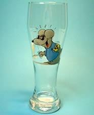 Uli Stein Weizenbierglas 0,5 liter / Blinde Maus