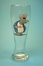 Uli SteinWeizenbierglas 0,5 liter / No!