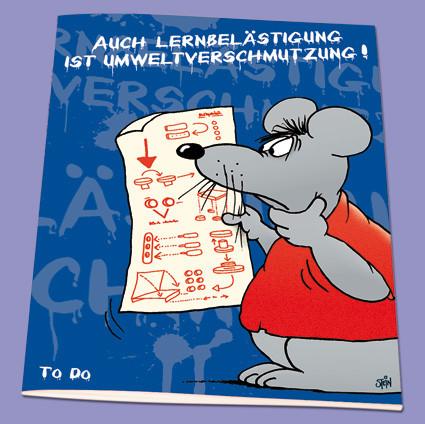 Uli Stein Aufgabenheft A5 Office+School 10