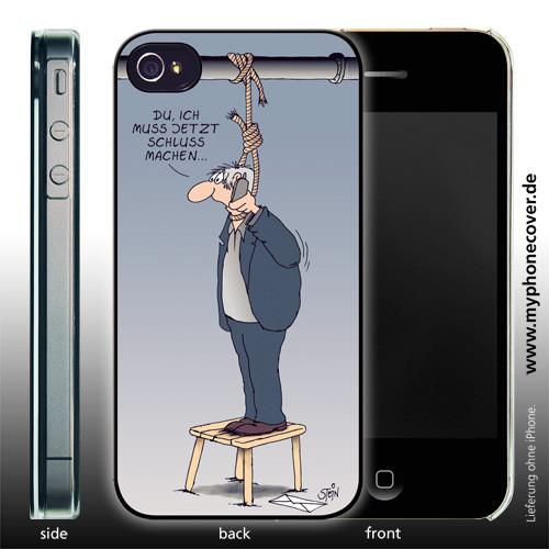 Phone Cover Schluß machen
