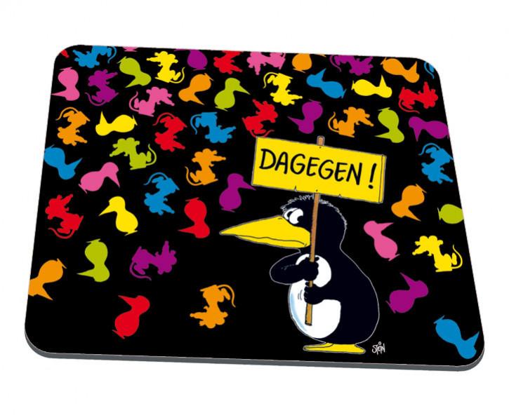 """Uli Stein Mousepad """"""""DAGEGEN"""