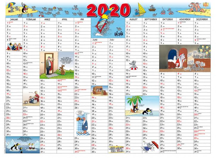 Uli Stein Jahresplaner Maus, gerollt 2020