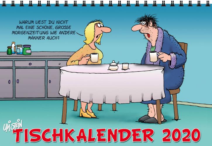 Uli Stein Tischkalender stehend 2018