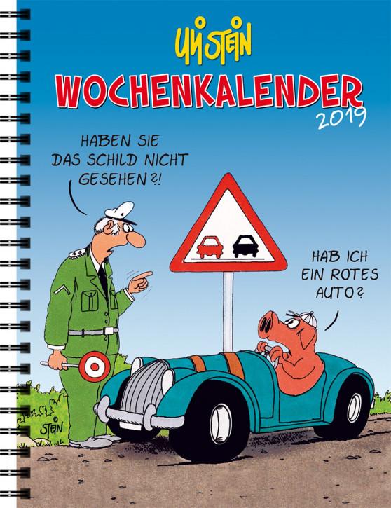 Uli Stein Wochenkalender 2017