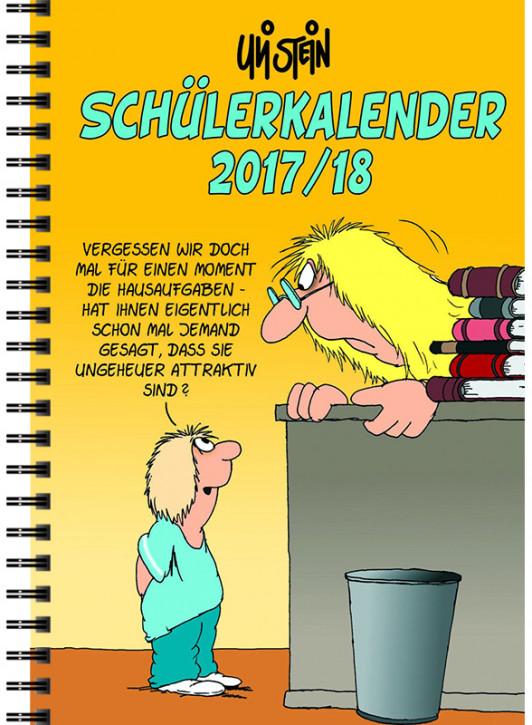 Uli Stein Schülerkalender 17/18, mit Spiralbindung