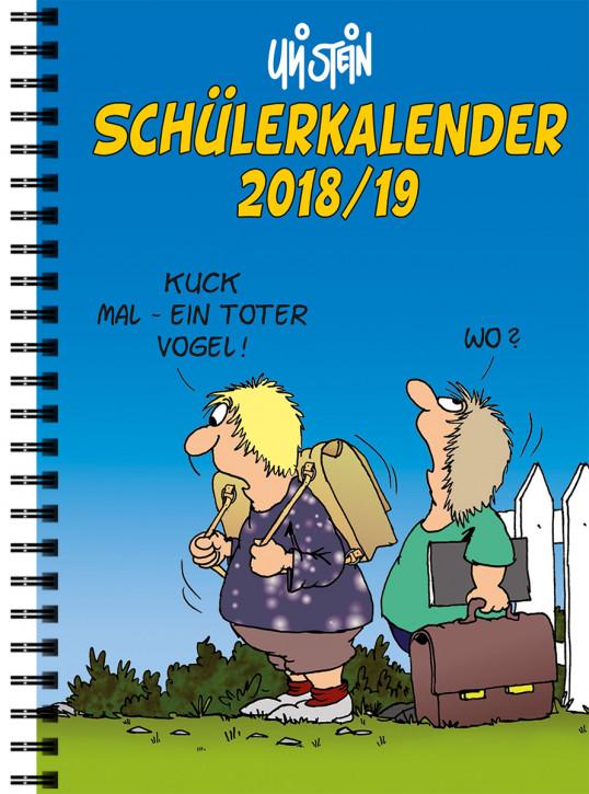 Uli Stein Schülerkalender 18/19, mit Spiralbindung