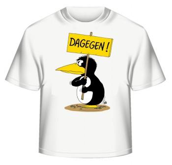 Uli Stein T-Shirt weiss DAGEGEN XXL