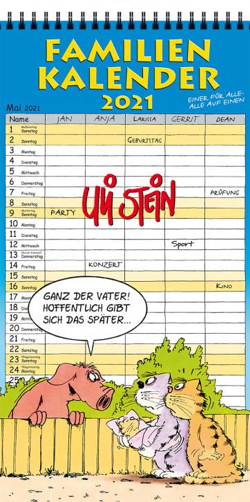 Uli Stein Familien Kalender 2021