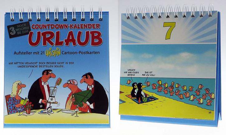 Uli Stein Countdown Kalender Urlaub