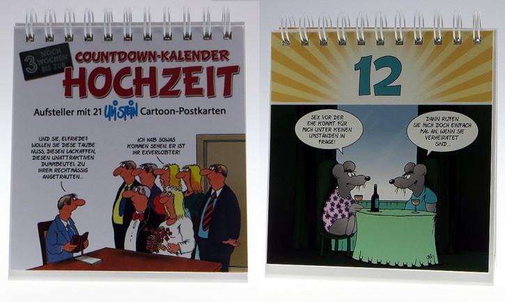 Uli Stein Countdown Kalender Hochzeit