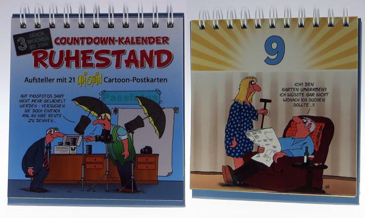 Uli Stein Countdown Kalender Ruhestand
