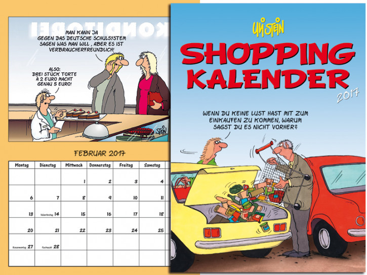 Shopping Kalender 2017