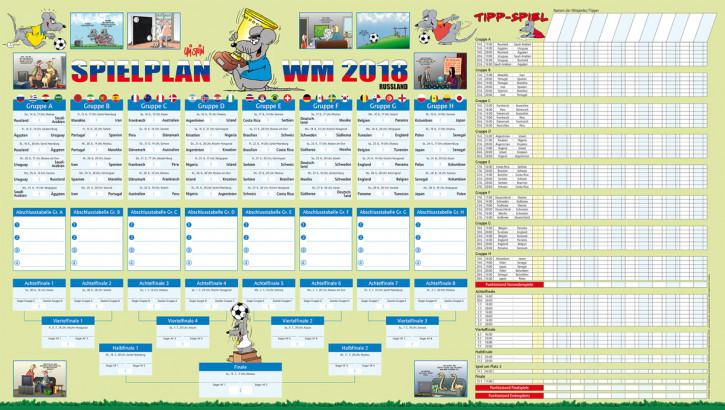 Fußball WM Spielplan 2018 mit Tipp Spiel