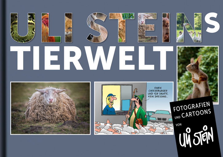 Buch Uli Steins Tierwelt, Fotografien und Cartoons