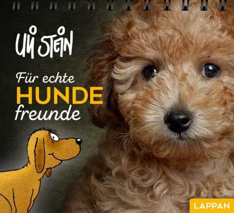 """Buch Uli Stein """"Für echte Hundefreunde"""", Aufsteller"""