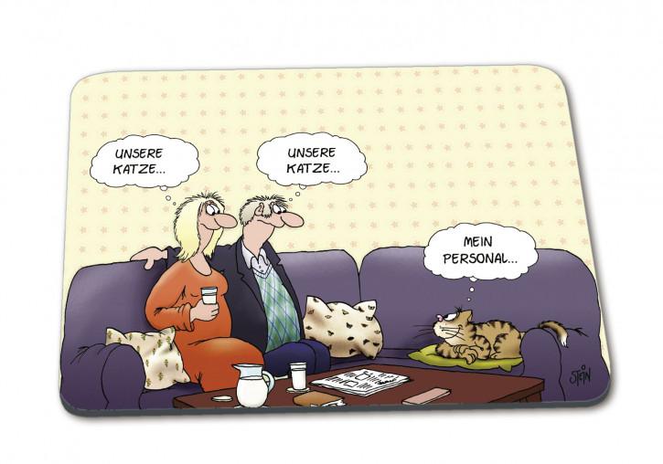 Uli Stein Mousepad Mein Personal, Katze