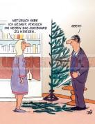 Postkarte Weihnachten / Sideboard