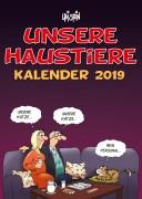 Uli Stein Haustier Kalender 2019