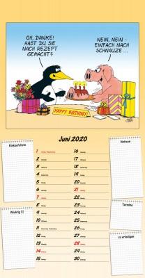 Uli Stein Küchen Kalender 2019