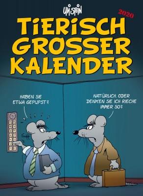 Uli Stein  Tierisch Grosser Kalender 2020