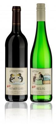 Uli Stein Wein Set by Weingut CA-Haussmann