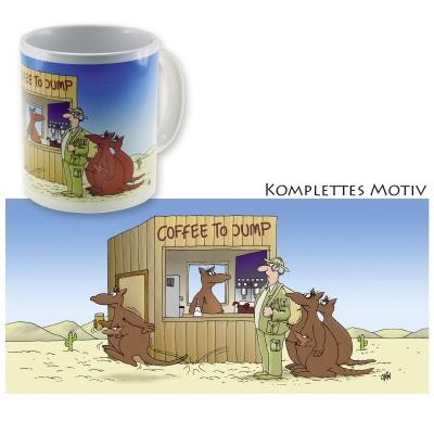 Uli Stein Becher Coffee to Jump