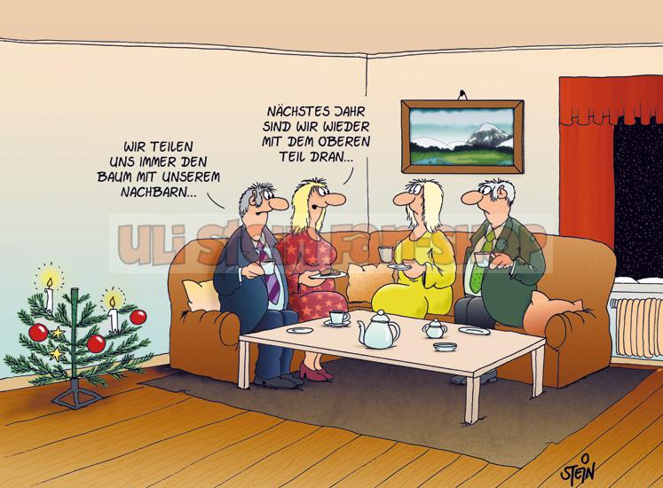 postkarte weihnachten teilen uns einen baum u60 691. Black Bedroom Furniture Sets. Home Design Ideas