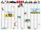 Uli Stein Jahresplaner Maus, gerollt 2021