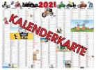 Uli Stein Kalenderpostkarte 2021 (21x15cm)