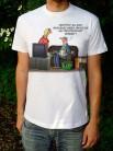 Uli Stein T-Shirt weiss Fußball WM, Möchtest Du noch irgendwas sagen, bevor die Weltmeisterschaft anfängt?