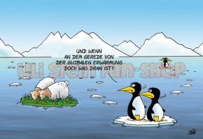 Postkarte Globale Erwärmung
