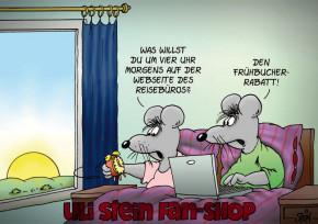 Postkarte / Frühbucherrabatt