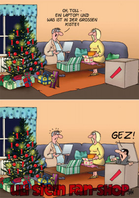 Weihnachtskarte /GEZ