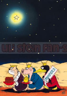 Klappkarte Weihnachten / Pampers