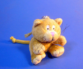 Mini Uli Beanbags Schlüsselanhänger / Katze braun