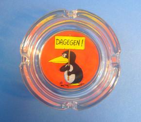 Mini Aschenbecher Dagegen