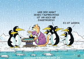 Postkarte / Taufbecken