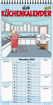 Uli Stein Küchen Kalender 2021