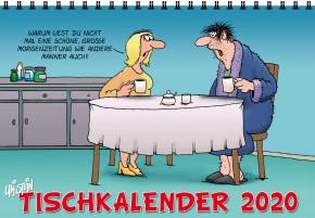 Uli Stein Tischkalender stehend 2017