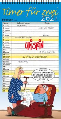 Uli Stein Timer für Zwei Kalender 2021