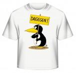 Uli Stein T-Shirt weiss DAGEGEN S