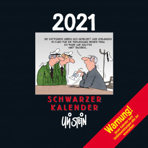 Uli Stein  Schwarzer Kalender 2021