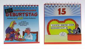 Uli Stein Countdown Kalender Geburtstag