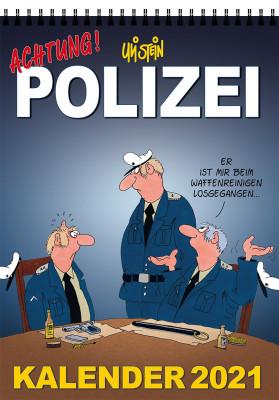 Uli Stein Polizei Kalender 2021
