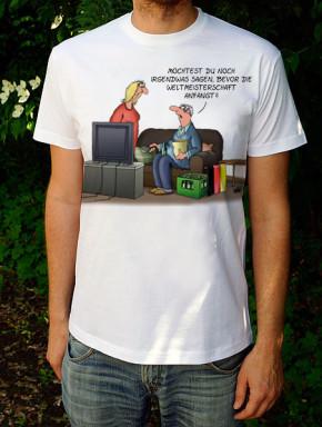 Uli Stein T-Shirt weiss WM S